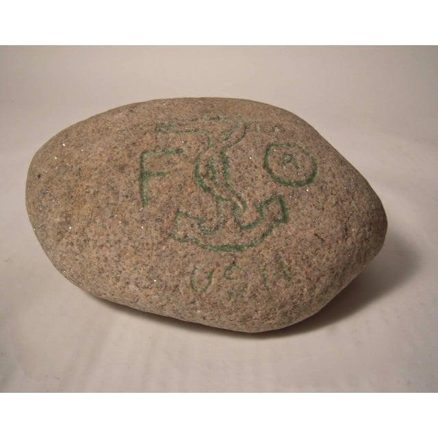 Carved Granite Rock Souvenir from the USS Kearsarge, 1864 - Image 3 of 8
