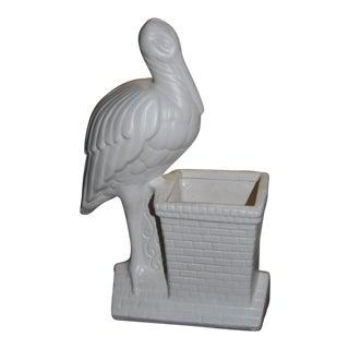 Chimney Pelican Planter