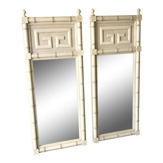 Dixie Furniture Greek Key Mirrors - A Pair