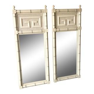 Dixie Furniture Greek Key Mirrors - A Pair