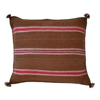 Aymara Manta Woven Pillow