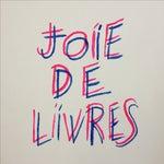 "Image of ""Joie De Livres"" Modern Print"