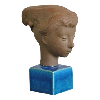 "Vintage Danish Hedegaard ""Head of Cleopatra"""