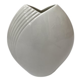 Modern Contemporary White Vase by Christopher Stuart
