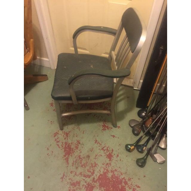 Image of Art Metal Aluminum Slat Chair