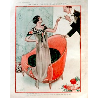 "1924 Vald'Es La Vie Parisienne ""Women Today"" Print"