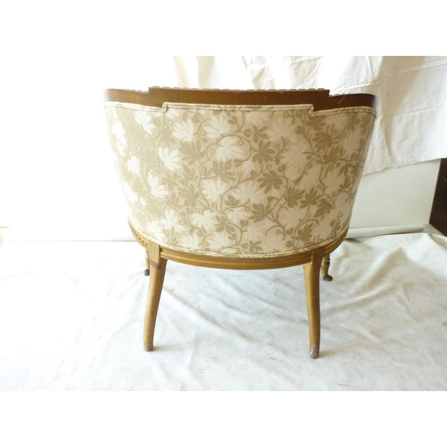 French Giltwood Bergere Chair - Image 4 of 11