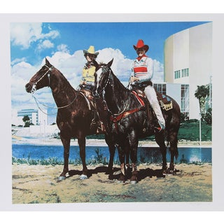 "R. McLean, ""Diamond Tinker & Jet Tex,"" Lithograph"