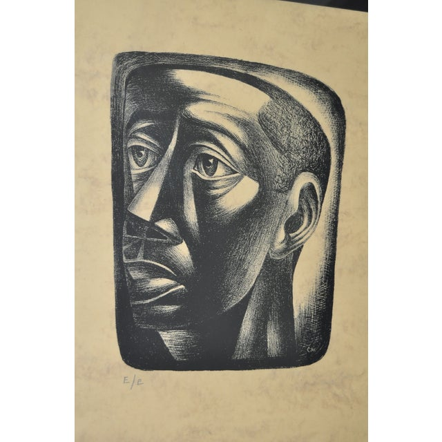 "Charles White ""Joven"" Lithograph, C.1946 - Image 5 of 7"