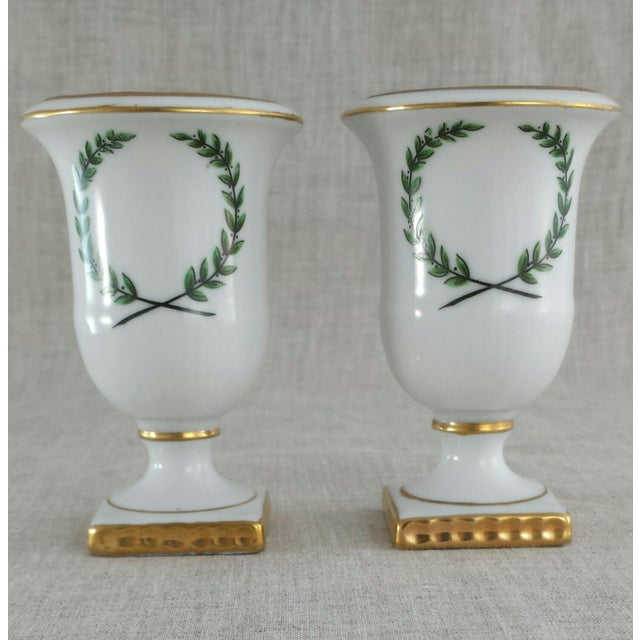 Vintage Porcelain Toothpick Holders - A Pair - Image 2 of 8