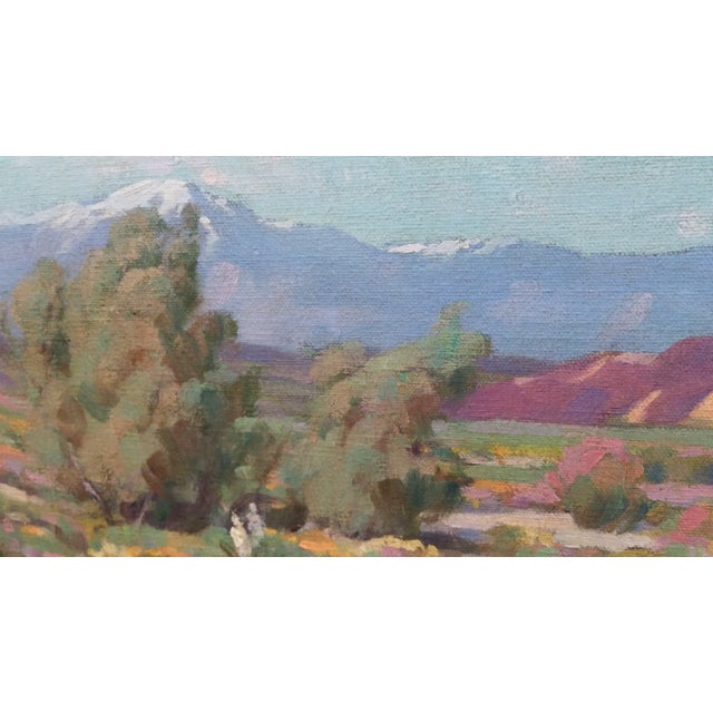 """California Desert"" Oil Painting by George Melcher - Image 5 of 9"