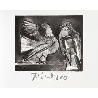 Pablo Picasso - Deux Pigeons Estate Lithograph