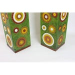 Image of Mod Green Ambient Table Lamps - Pair