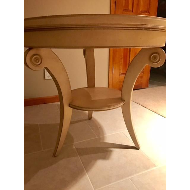 Image of Transitional Round Accent Table