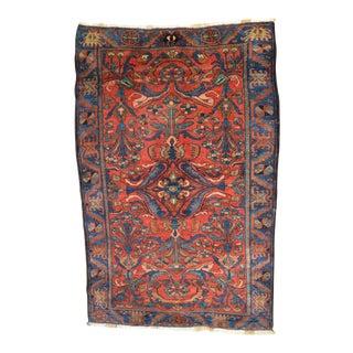 """Antique Persian Lilihan Rug - 5'5"""" x 8'9"""""""