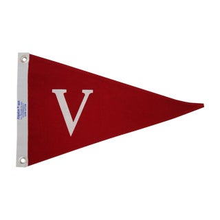 "Cherry Red ""Victory"" Flag"