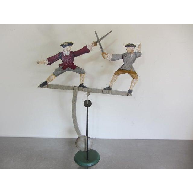"""The Duel"" Balancing Folk Art - Image 6 of 8"