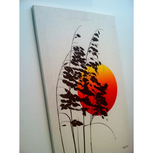 1970s Landscape Silkscreen - Image 5 of 6
