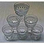 Image of Tilled Glass Sherbet Cups - Set of 6