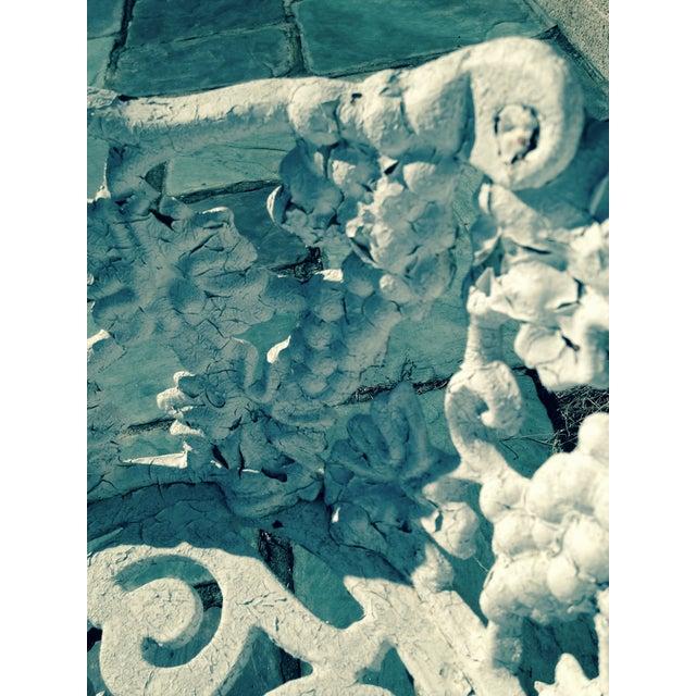 Antique Cast Iron Garden Bench - Image 11 of 11
