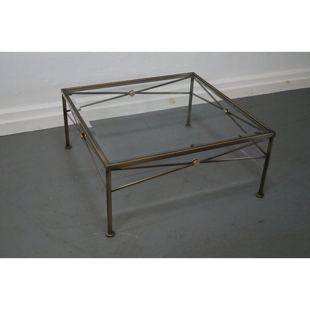 Design Institute of America Steel Coffee Table - Image 3 of 10