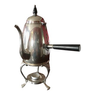F.B. Rogers Silver Co. Tea Kettle & Candle Warmer