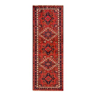 "Apadana - Vintage Persian Heriz Rug, 2'1"" x 6'2"""