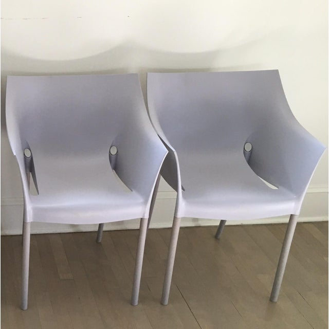 Starck dr no chairs by kartell a pair chairish Kartell chaise starck