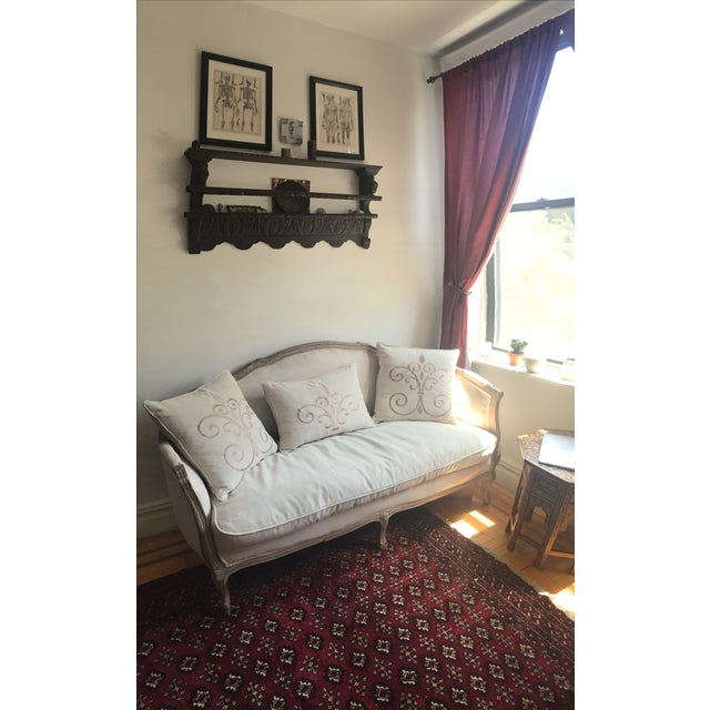 Salerno French-Style Settee - Image 2 of 4
