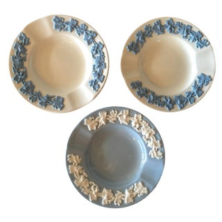 Wedgwood Pin Trays or Ashtrays - Set of 3