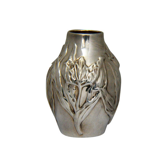 Louis Comfort Tiffany & Co.Sterling Silver Vase - Image 1 of 6