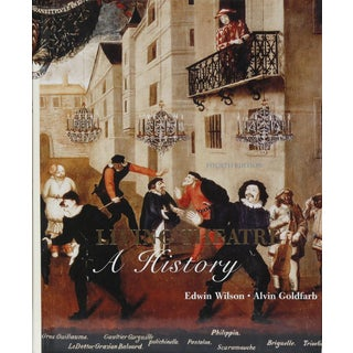 Living Theatre, a History by Edwin Wilson & Alvin Goldfarb