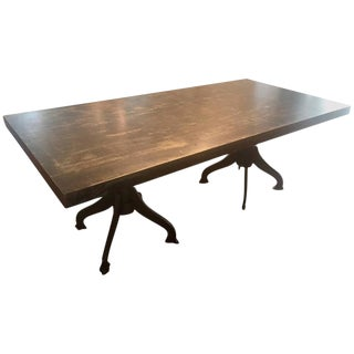 Industrial Dining Table or Conference Table