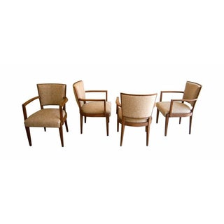 French Art Modern Chairs - Set of 4