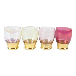 Vintage Shot Glasses - Set of 4