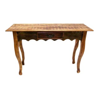 Elegant Console Table Eco-Friendly Peroba Rosa Wood