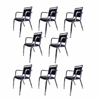 Mid-Century Modern Emeco 1814 Chairs - Set of 8