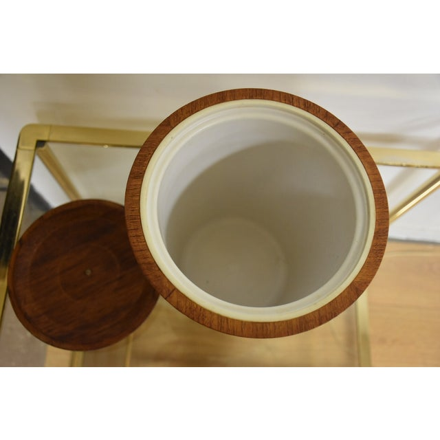 Mid-Century Teak Ice Bucket - Image 6 of 8