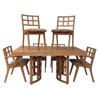 1950s Jens Risom for Knoll Dining Set in Maple