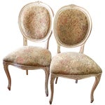 Image of French Provincial Chairs - A Pair