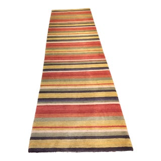 Tibetan Hall Runner Rug - 2′8″ × 9′6″
