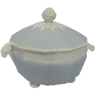 Nymphenburg Perl Blue Cache Pot