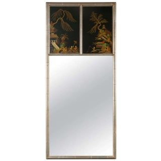 Chinoiserie Style Faux Bamboo Mirror