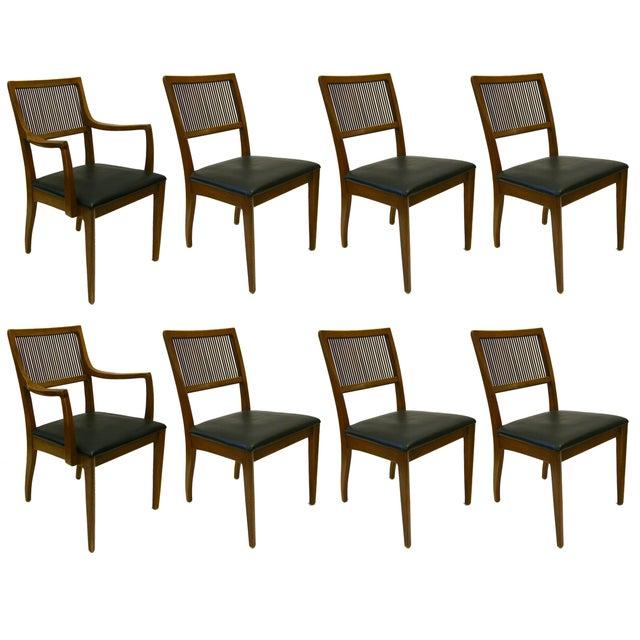 John Van Koert for Drexel Dining Chairs- Set of 8 - Image 1 of 4
