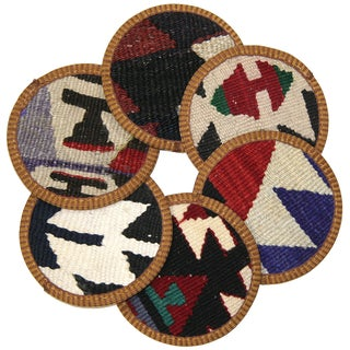 Kilim Ordu Coasters - Set of 6