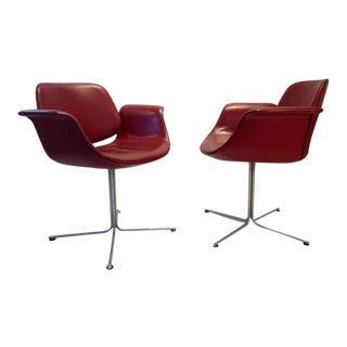 """Flamingo"" Chair by Erik Jorgensen - A Pair"