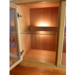 Image of Solid Teak Buffet & Lighted Hutch