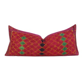 Deep Fuschia Antique Swati Pillow