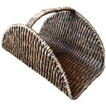 Image of Wicker Log Basket