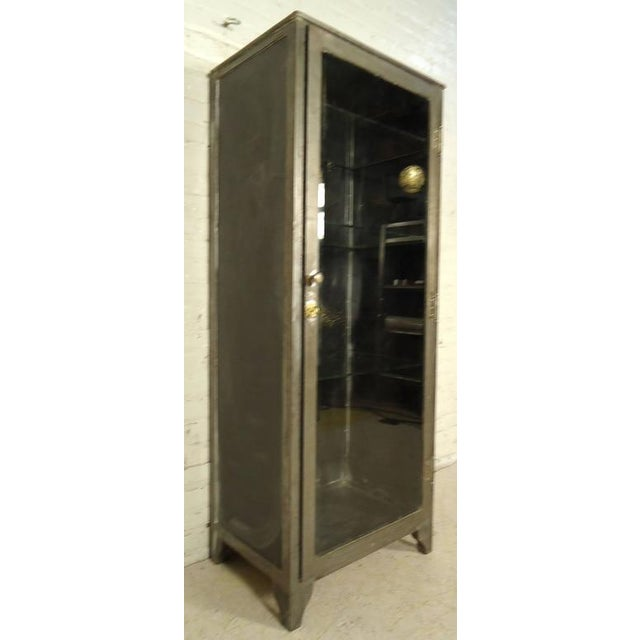 Industrial Metal Display Cabinet - Image 3 of 9